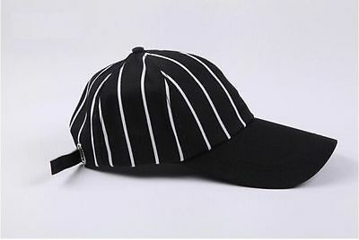 Freeship CHEF WORKS BLACK STRIPE VENT COLLECTION BLACK SPICY BASEBALL CAP HAT