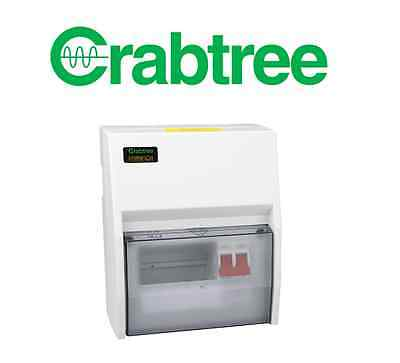 Crabtree 18LC19 19 Way Insulated Consumer Unit 100A 2P Switch Incomer