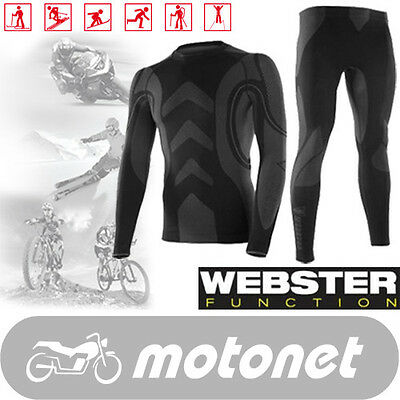 Brubeck Webster Thermoactive Seamless Underwear Activewear Unisex High Quality