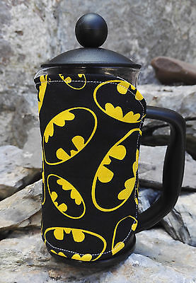 Batman Cafetiere Cosy Option of Small Medium or Large Size DC Comic Cosies