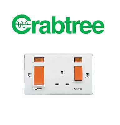 Crabtree 4521/31 45A Cooker Control Unit with Neon