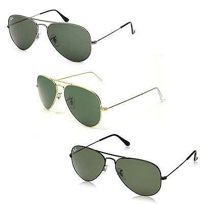 Ray Ban Aviator RB3025 58mm Sunglasses - Color Variations