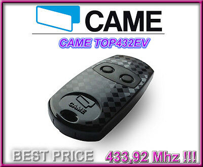 CAME TOP432EV (former TOP 432NA) remote control, 433,92Mhz 2-channel key fob