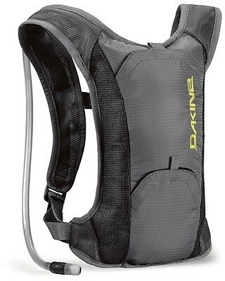 Dakine Waterman Hydration Back Pack Ruck Sack 2 Litre 08110500 Charcoal Grey