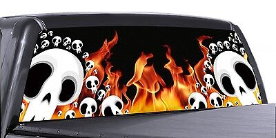 GRIM REAPER BOTH SIDES 4 SIZES AVIAL VuScapes Truck Rear Window Graphic