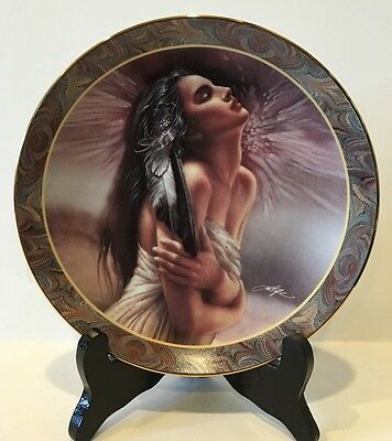 """""""afterglow"""" Collector Plate By Lee Bogle No 10995D Bradford Exchange"""