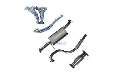"Nissan Patrol Gu 4.8Lt Pacemaker Extractors Cat 2.5"" Exhaust System With Hotdog"