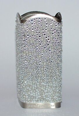 Bath & Body Works Silver Bling Pearl Gems Deep Cleansing Hand Soap Sleeve Holder