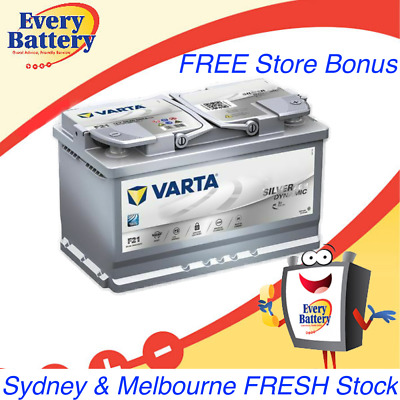 Varta AGM Car Battery F21 Melbourne BMW Audi 580 901 080