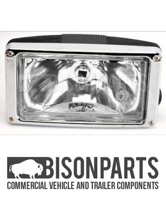 +Fits Scania 5 Series P & R Cabs (2004 - 2010) Sunvisor Clear Spot Lamp Sca328