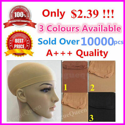 Brand New Wig Cap Stocking Control Hair Under Wig Soft Fabric