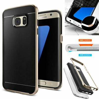 Hot Hard Bumper Hybrid Soft Rubber Skin Case Cover For Samsung Galaxy & iphone