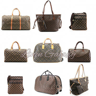 Travel Holdall Duffle Trolley Shoulder Check Stars Gym Hand Ladies Grab Bags