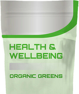 Organic Green Powder 10g/100g/250g - SUPERFOOD Orange Flavoured