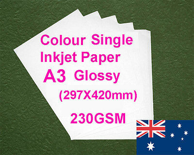 150 sheets A3 230GSM Inkjet  Glossy Photo Paper