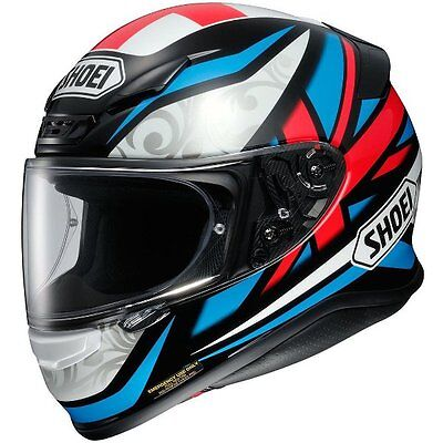 Shoei NXR Bradley Motorcycle Motorbike Full Face Helmet Small Large Extra Large