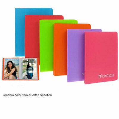 Pioneer Photo Mini-Poly Memories Single Album 4X6 For 36 Photos Assorted Colors
