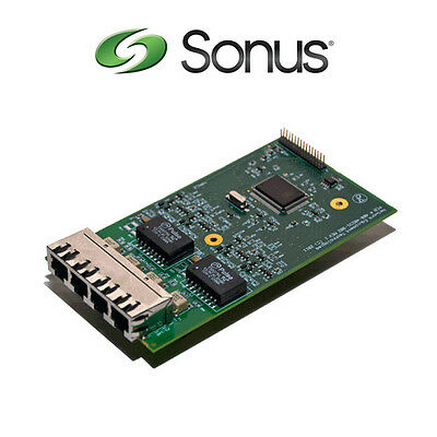 New Sonus Networking SBC 1000 BRI Card SBC-1K-CRD-4BRI