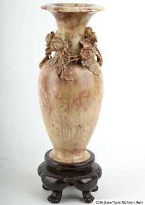 China 19. Jh. Speckstein -A Chinese Soapstone Amphora Vase - Vaso Cinese Chinois