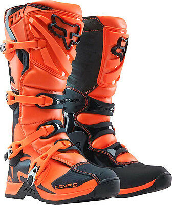 2017 Fox Racing Orange Comp 5 Boot Motocross MX Offroad Boots ATV Adult Mens KTM