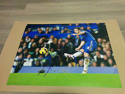 Chelsea FC Frank Lampard signed 11x14 photo w/ COA