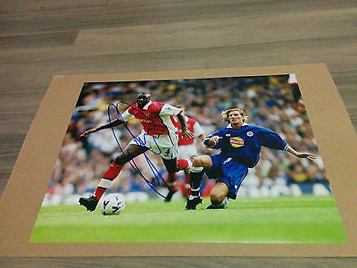 Arsenal FC Patrick Vieira signed 11x14 photo w/ COA