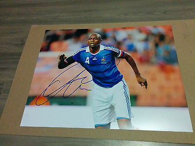 Team France Patrick Vieira signed 11x14 photo w/ COA