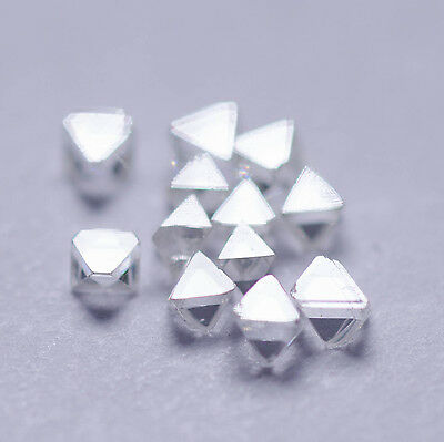 1.50MM 0.03 Carat Natural Rough Diamond Brut Roh Diamant White Octahedron VVS