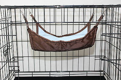 Rat Ferret Hamster Or Other Animal Luxury Fur Lined Hammock / Pouch