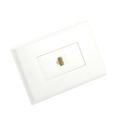 Cat6 Wall Plate 1 Port - Punch Down