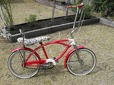 Vintage Old School - Red Dragster Bicycle