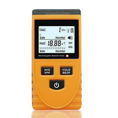 EMF Gauss Meter Electromagnetic Radiation Detector Tester Test CE Certificated