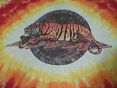 VERY RARE Vtg 1990's JERRY GARCIA Jerry's Kids GRATEFUL DEAD TIE DYE T-Shirt XL