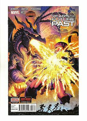 Years of Future Past Vol 1 No 3 Sep 2015 (NM) Marvel, Secret Wars, 1st Print