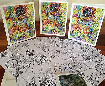 Kundalini Colouring in Folder for Adults!