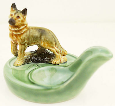 WADE Pipe Rest No.1 Dog Figurine Figure Original Box 1970s English Porcelain