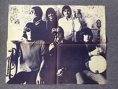 Jefferson Airplane Herb Greene, 1966 Photo Music Poster 35 X 43 Rare