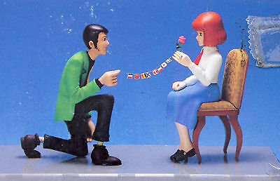 RARE Lupin the 3rd Castle of Cagliostro LUPIN & CLARISE Plastic Model Kit JAPAN