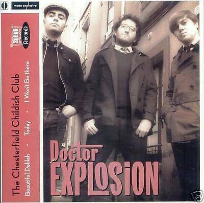 """7"""" Ep Doctor Explosion Chesterfield Garage Spanish  Mod"""