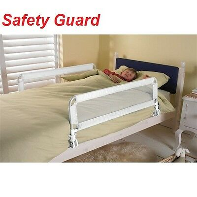Toddler Bed Guard Baby Safety Rail Kids Bedroom Protection Nursery Locking Gate
