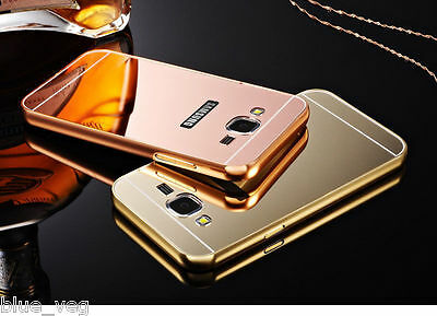 New Luxury Aluminum Ultra-thin Mirror Metal Case Cover for Samsung Galaxy Model
