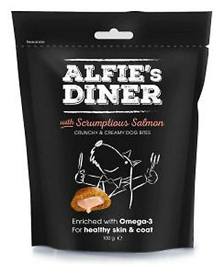 Mark and Chappell Alfies Diner Gourmet Dog Puppy Treats Scrumptious Salmon