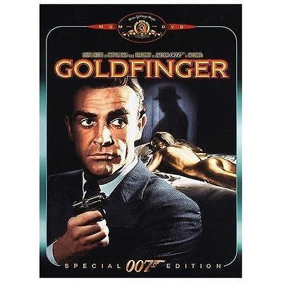 Goldfinger (Sean Connery) Special Edition DVD  VG+