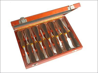 Faithfull - Woodcarving Set in Case Set of 12