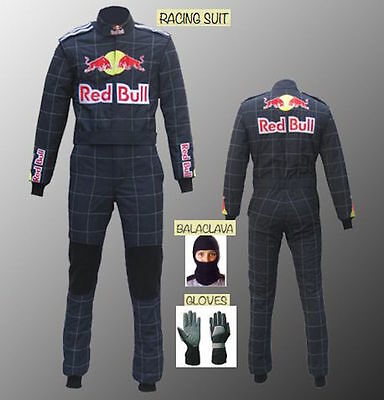 Red Bull Hobby kart race suit Basic style Navy blue Edition