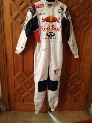 Red Bull Hobby kart race suit 2015 style White Edition