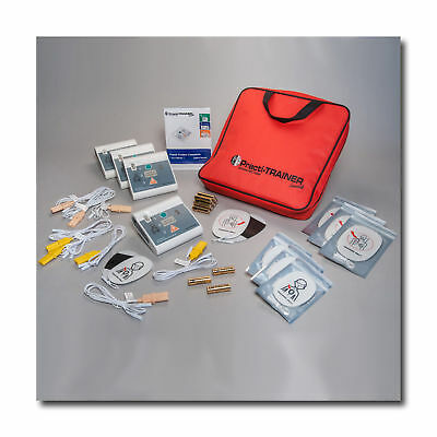 4 Pack Compact AED trainer Small and easy to use  CPR trainers LOVE this AED