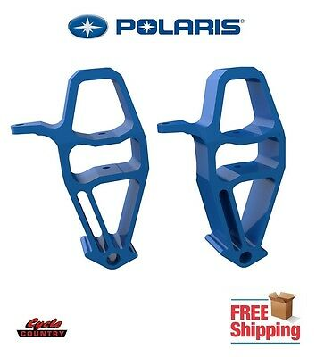 Polaris Axys Rush Switchback Snowmobile Spindles (Pair) Steering Knuckles Blue