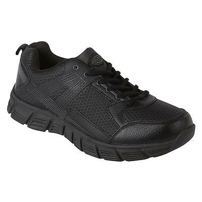 Dickies Avalon Mens Slip Resistant Service Work Shoe Black Size 7 -14