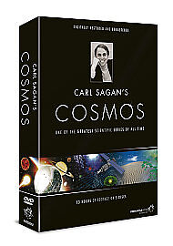 COSMOS - KARL / CARL SAGAN - The Complete TV Series 5 DVD BOX NEW